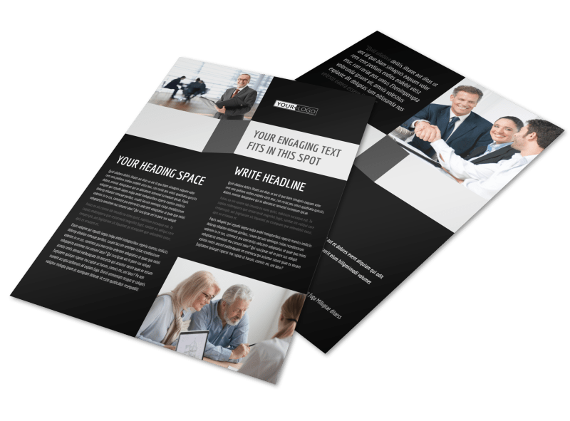 Pro Business Insurance Flyer Template Preview 1