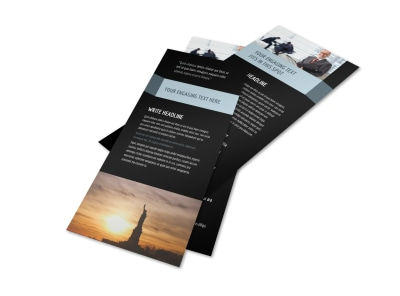 Immigration Attorney Flyer Template 2