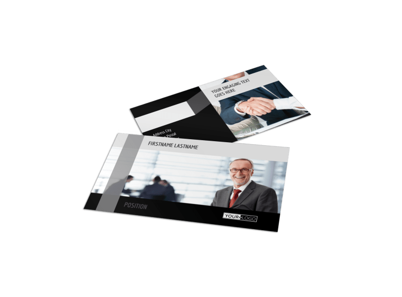Pro Business Insurance Business Card Template Preview 1