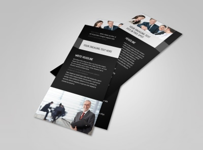 Pro Business Insurance Flyer Template 2