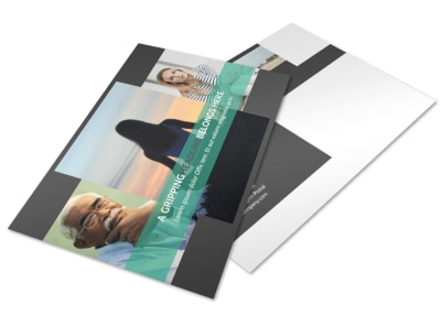 Addiction & Rehab Clinic Postcard Template 2 preview