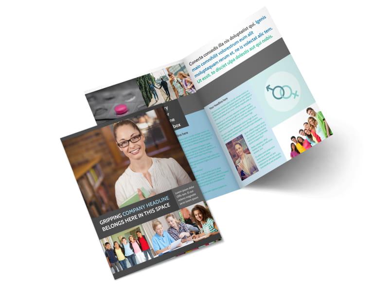 Sex Education Bi-Fold Brochure Template 2