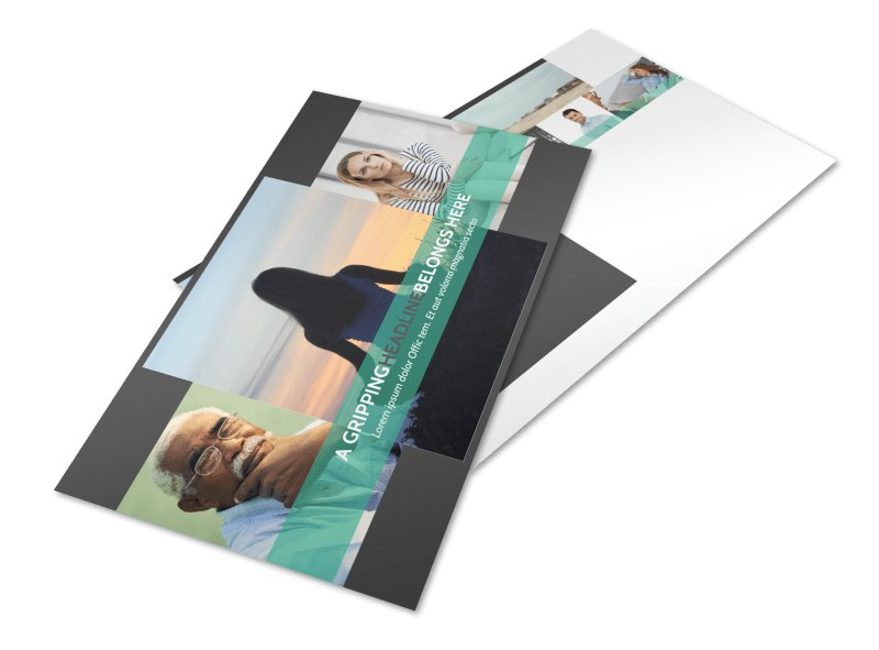 Addiction & Rehab Clinic Postcard Template Preview 4