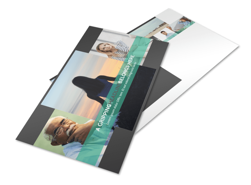 Addiction & Rehab Clinic Postcard Template Preview 1