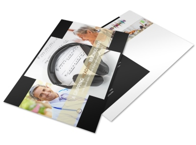 Hearing Specialists Postcard Template