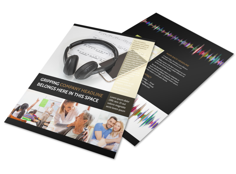Hearing Specialists Flyer Template