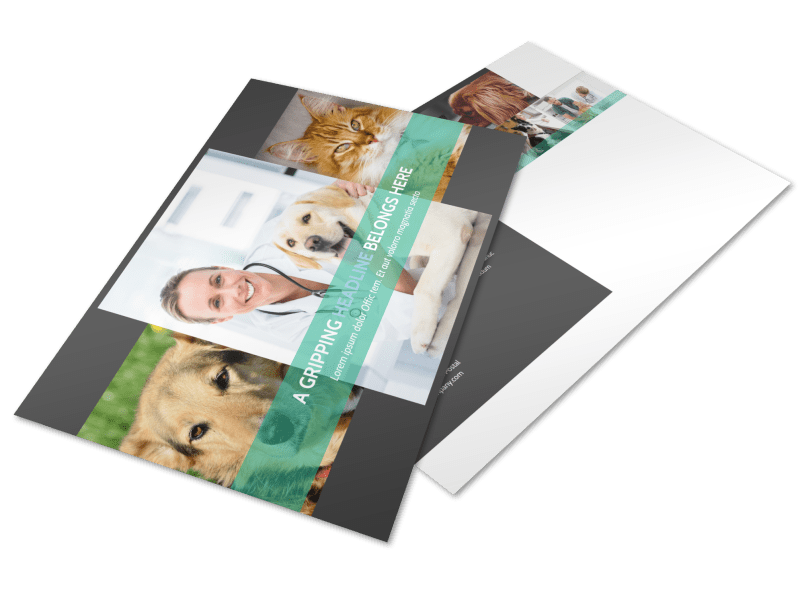 Veterinarian Postcard Template Preview 1