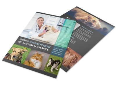 Veterinarian Flyer Template