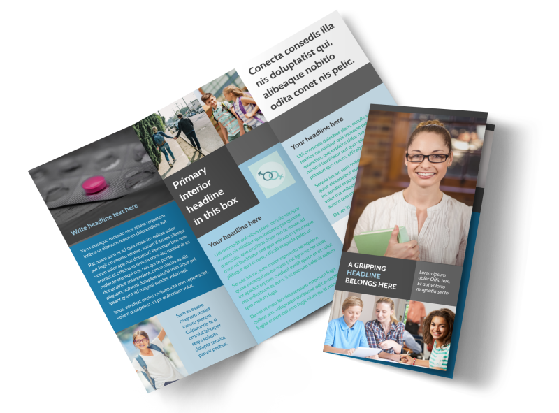 Sex Education Brochure Template Preview 1