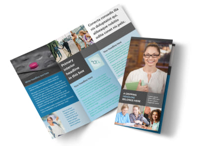Sex Education Tri-Fold Brochure Template