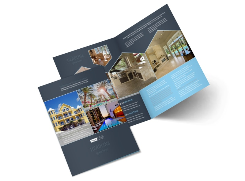 apartment brochure templates - condominium complex brochure template mycreativeshop