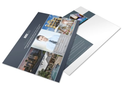 Apartment & Condominium Postcard Template