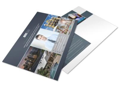 Apartment & Condominium Postcard Template