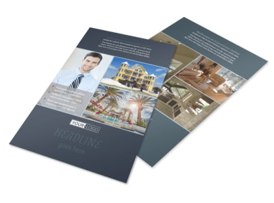 Apartment & Condominium Flyer Template 3