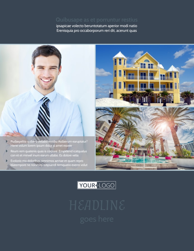 Condominium Complex Flyer Template Preview 2