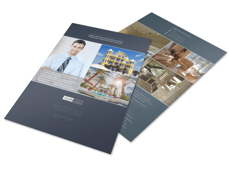 Condominium Complex Flyer Template Preview 1