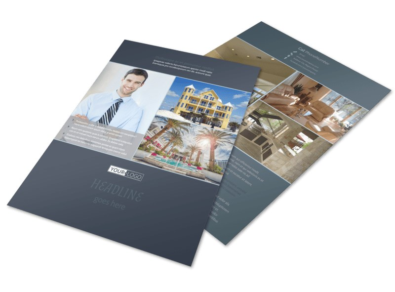 Condominium Complex Flyer Template  Mycreativeshop
