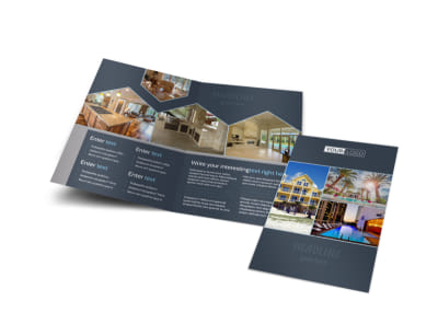 Apartment & Condominium Bi-Fold Brochure Template