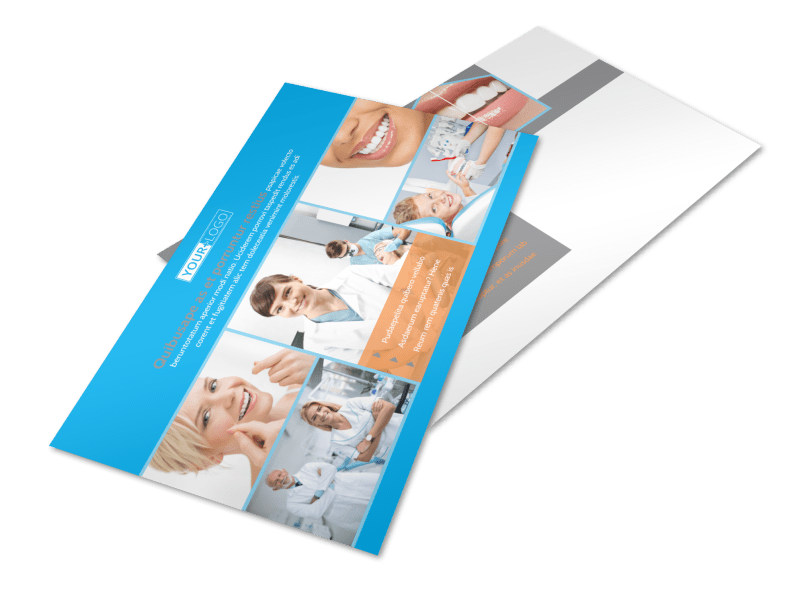 Dental Postcard Template 2