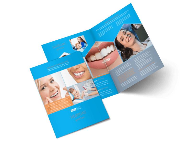 Dental Bi-Fold Brochure Template 2