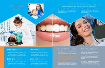 Dental Brochure Template Preview 2