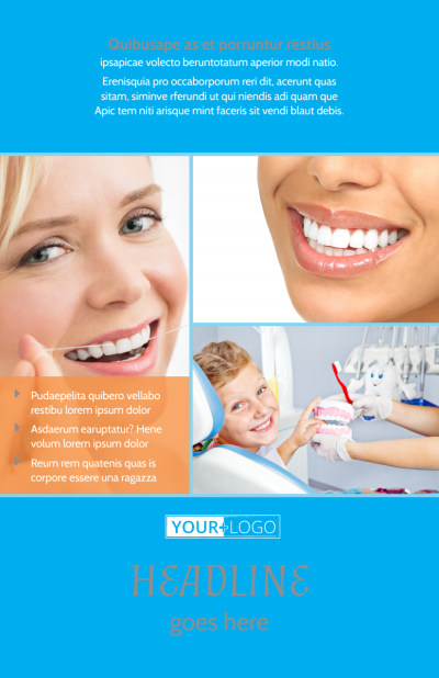 Dental Flyer Template Preview 1