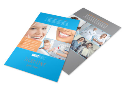 Dental Flyer Template 3 preview