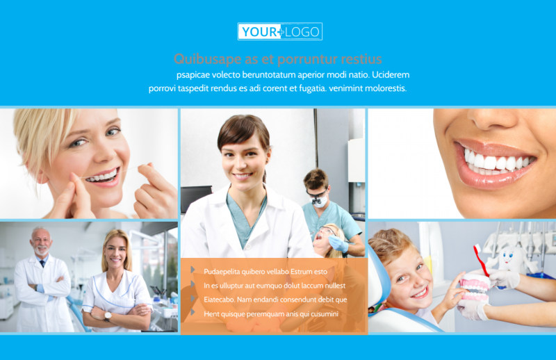 Dental Postcard Template Preview 2