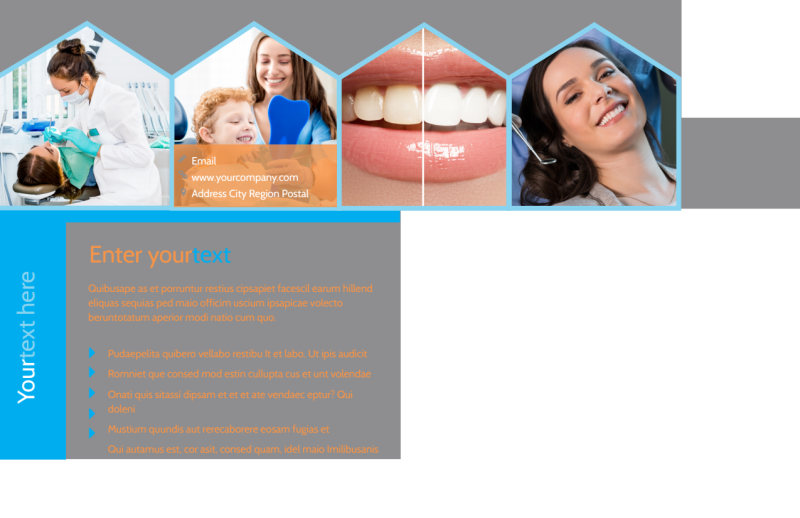 Dental Postcard Template Preview 3