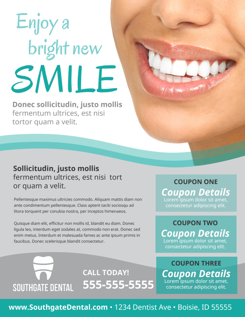Dental Flyer Template Preview 2
