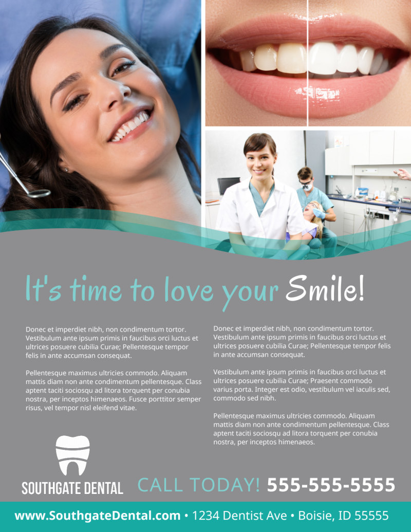 Dental Flyer Template Preview 3