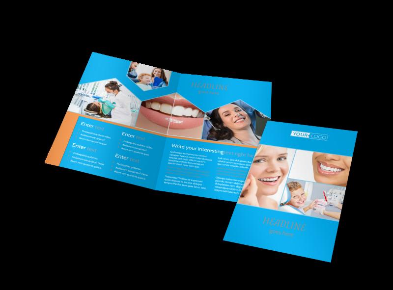 Dental Brochure Template Preview 1