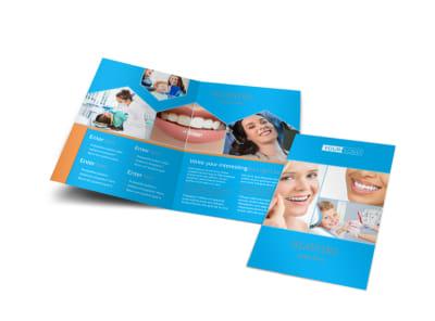 Dental Bi-Fold Brochure Template preview