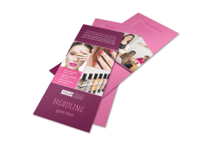 Nail Salon Flyer Template 2