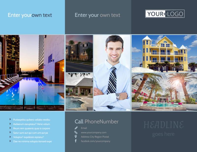 Condominium Complex Brochure Template Preview 2