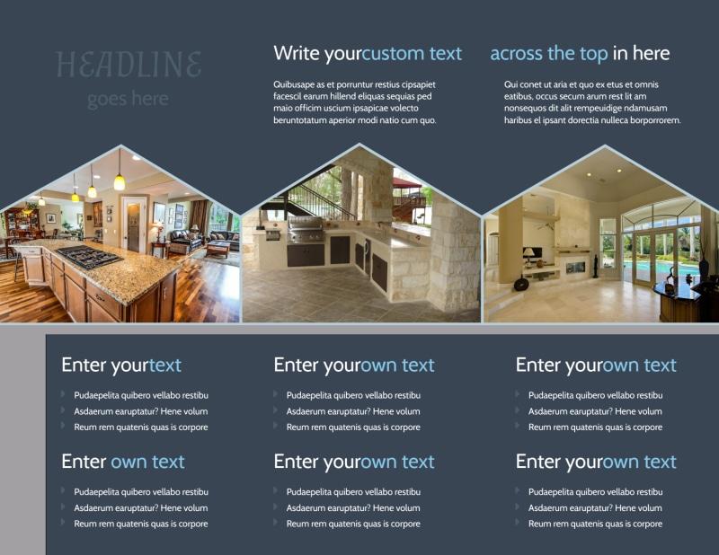Condominium Complex Brochure Template Preview 3