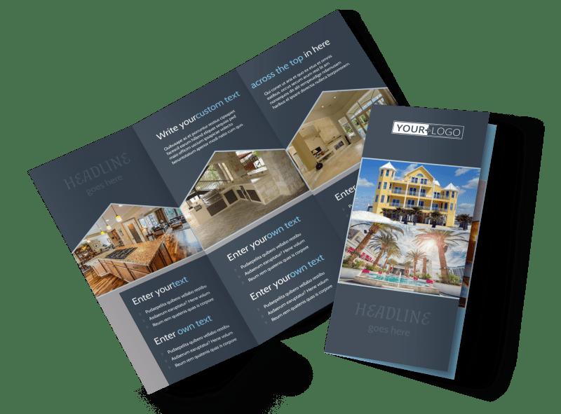Condominium Complex Brochure Template Preview 1