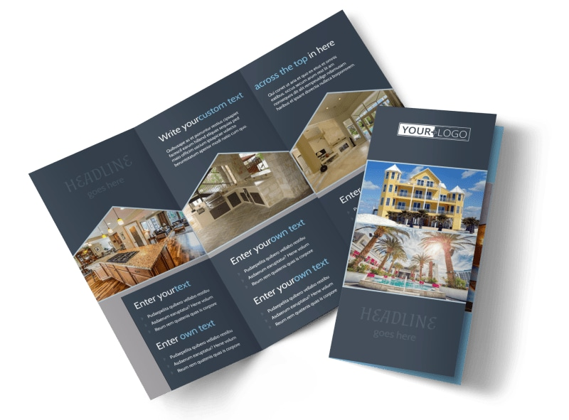 apartment condominium brochure template