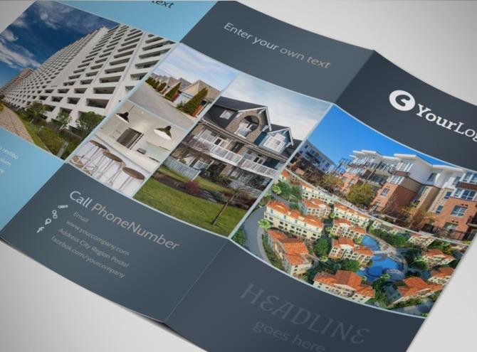 apartment brochure templates - apartment condo open house brochure templates