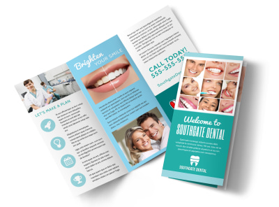 Dental Tri-Fold Brochure Template