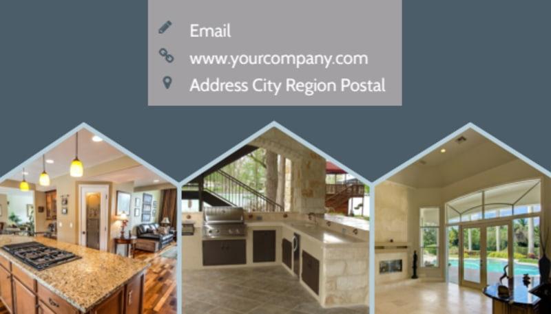 Condominium Complex Business Card Template Preview 3