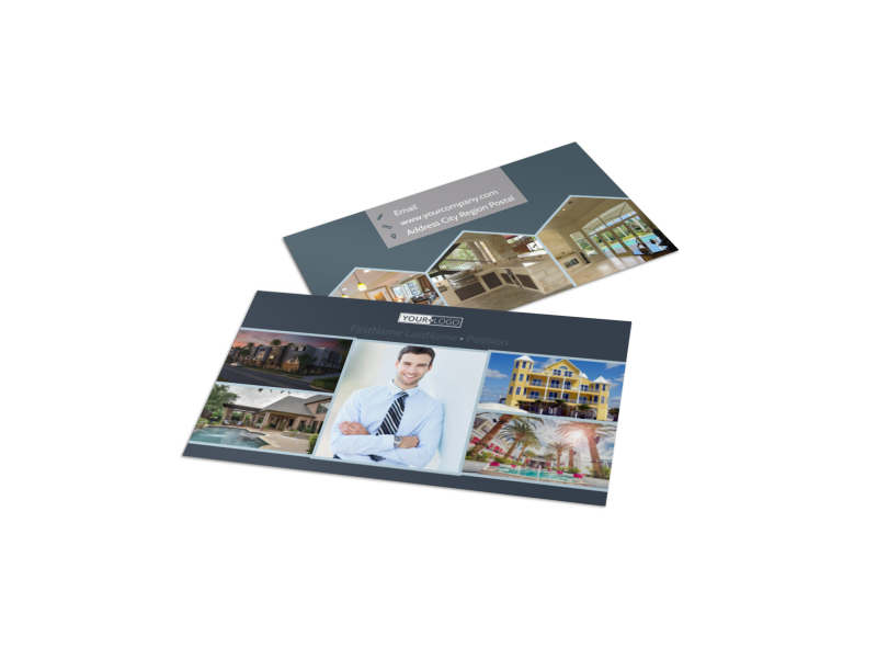 Condominium Complex Business Card Template Preview 1