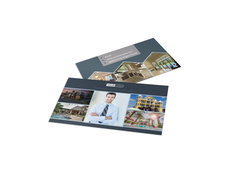 Apartment & Condominium Business Card Template