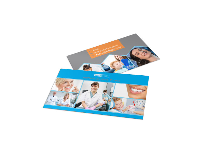 Dental postcard template mycreativeshop dental business card template cheaphphosting Choice Image