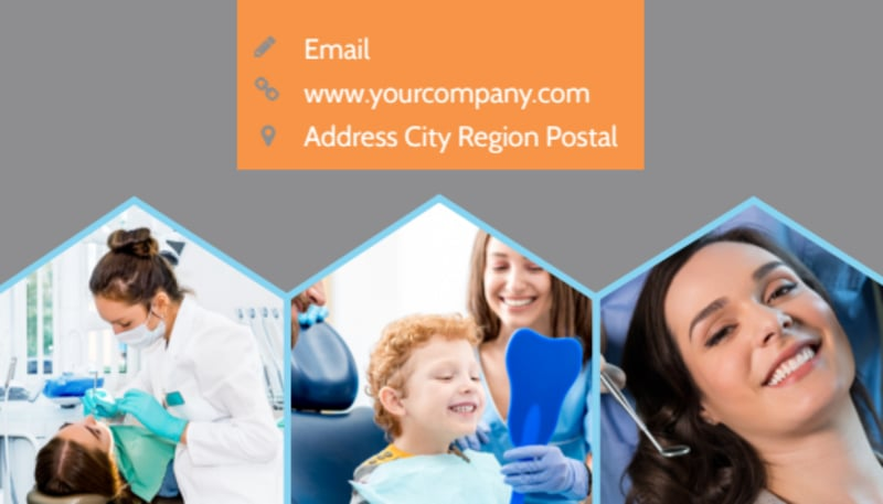 Dental Business Card Template Preview 3