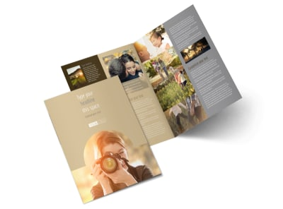 Photographer & Photography Studio Brochure Template 2