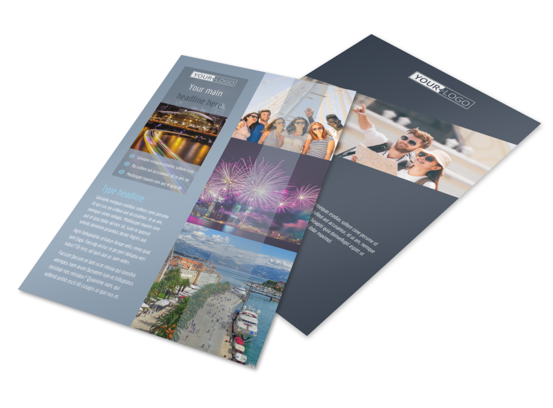 City Tour Flyer Template Preview 1