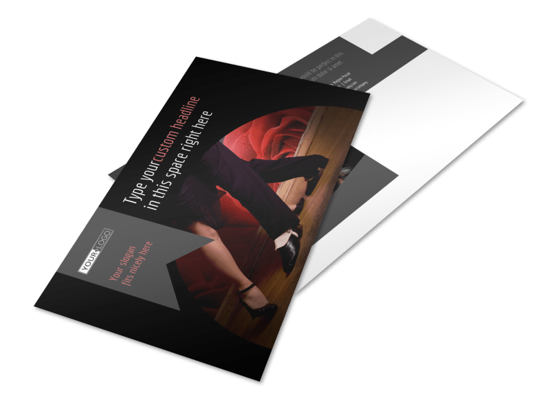 Dance Lessons Postcard Template Preview 1