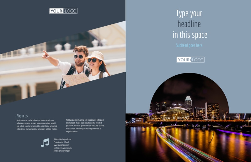 City Tour Brochure Template Preview 2