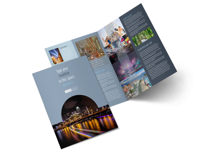 City Tour Brochure Template Preview 1